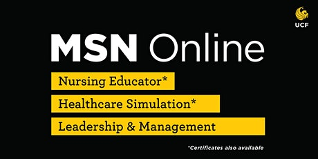 MSN Information Session tickets