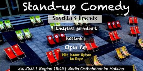 Stand-up Comedy mit Saschka & Friends - Open Mic Tickets