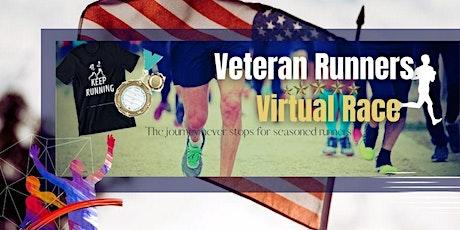 Veteran Runners Virtual Race tickets