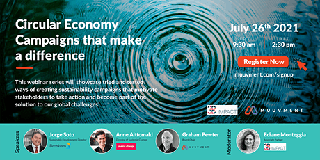 Circular Economy campaigns that make a difference tickets