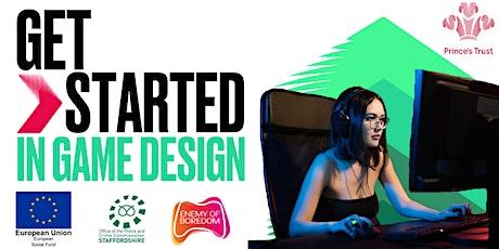 Get Started in Game Design- West Midlands tickets