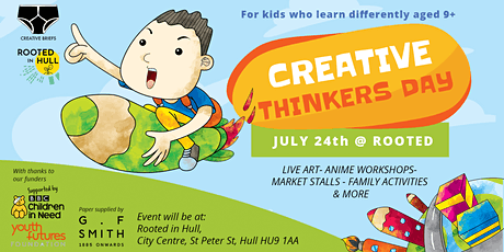 Creative Thinkers Day tickets