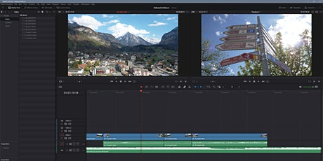 Videoschnitt mit Davinci Resolve - Videoworkshop 4/5 tickets