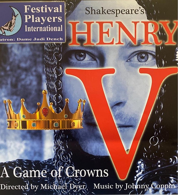 Shakespeare's Henry the V  -  A Game of Crowns image