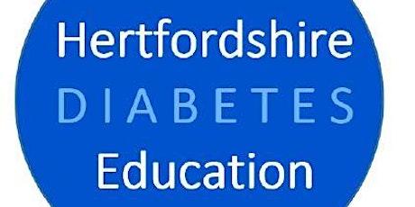Hertfordshire Diabetes Education Webinar tickets