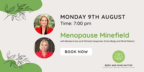 Menopause Minefield tickets