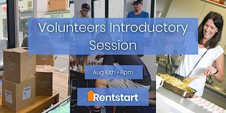 Rentstart Volunteers Introductory Session tickets