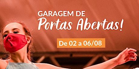 GARAGEM DE PORTAS ABERTAS ingressos