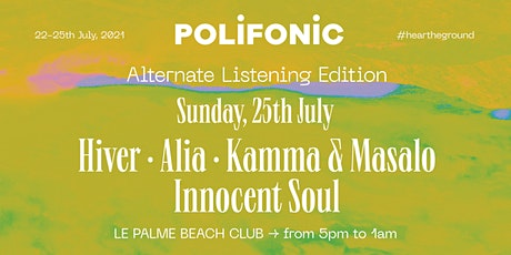 25.07 Alternate Listening Edition at Le Palme Beach Club biglietti