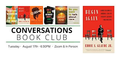 Conversations Book Club: Begin Again tickets