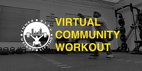 ICW Virtual Community Workout tickets
