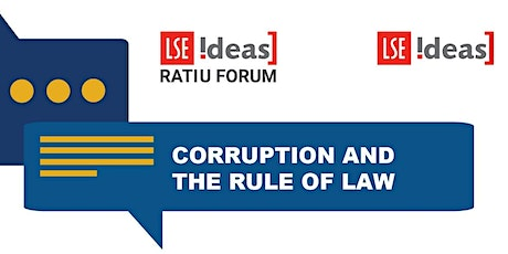 Ratiu Dialogues on Democracy: Corruption and the rule of law tickets