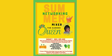 Summer Networking Mixer presented by Haylene Green, The Garden Queen tickets