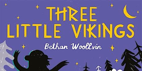 Three Little Vikings:  Bethan Woollvin -  Gipsyville Library tickets