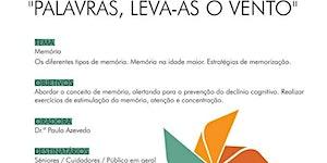 "Palestra ""PALAVRAS LEVA-AS O VENTO"""