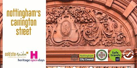 Nottingham's Carrington Street tickets