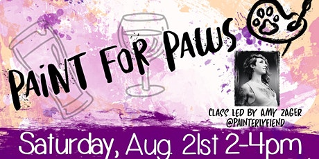 Paint for Paws - A Fundraiser for Intermountain Mannered Mutts tickets