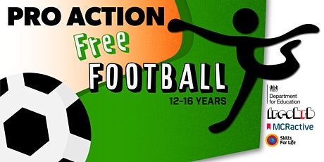 FREE Football Summer Activity (Age 12 - 16) tickets