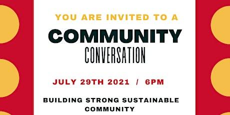 Community Summer Conversation July 2021 tickets