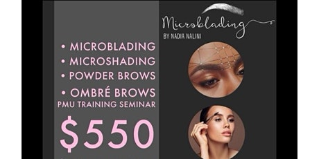 MicroBlading• Microshdaing• Ombré• Feathering •  Powder Brows tickets
