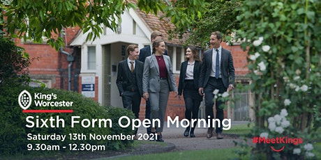 King's Worcester Sixth Form Open Morning tickets