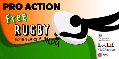 FREE Media & Touch Rugby Summer Activity (Age 12 - 16) tickets