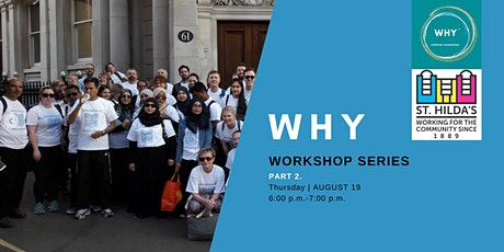 St Hilda's East Community WHY  Workshop Series  Part2. Present tickets
