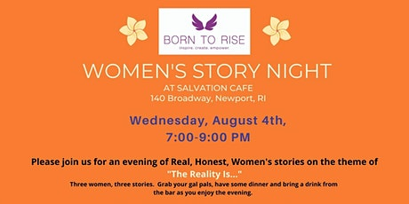 Born to Rise™ Women's story night at Salvation Cafe tickets