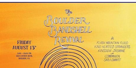 Concertize: The Boulder Bandshell Revival tickets