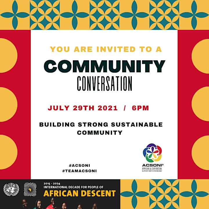 Community Summer Conversation July 2021 image