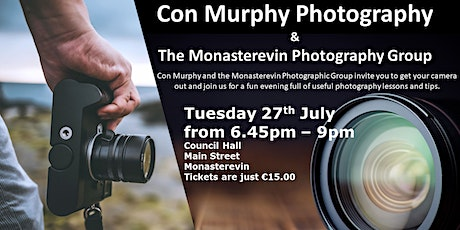 Photography Tips and Hints - Monasterevin tickets