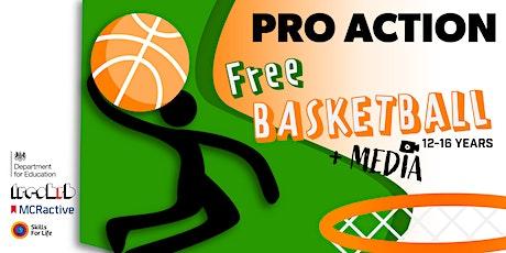FREE Media & Basketball Summer Activity (Age 12 - 16) tickets