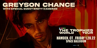 Greyson Chance – Trophies World Tour