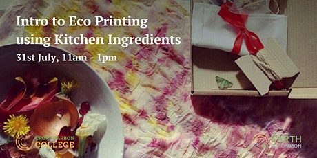 Intro to Eco Printing using Kitchen Ingredients tickets