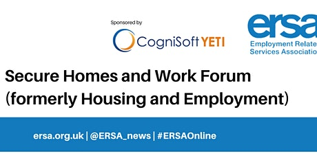 Secure Homes and Work Forum - sponsored by Cognisoft tickets