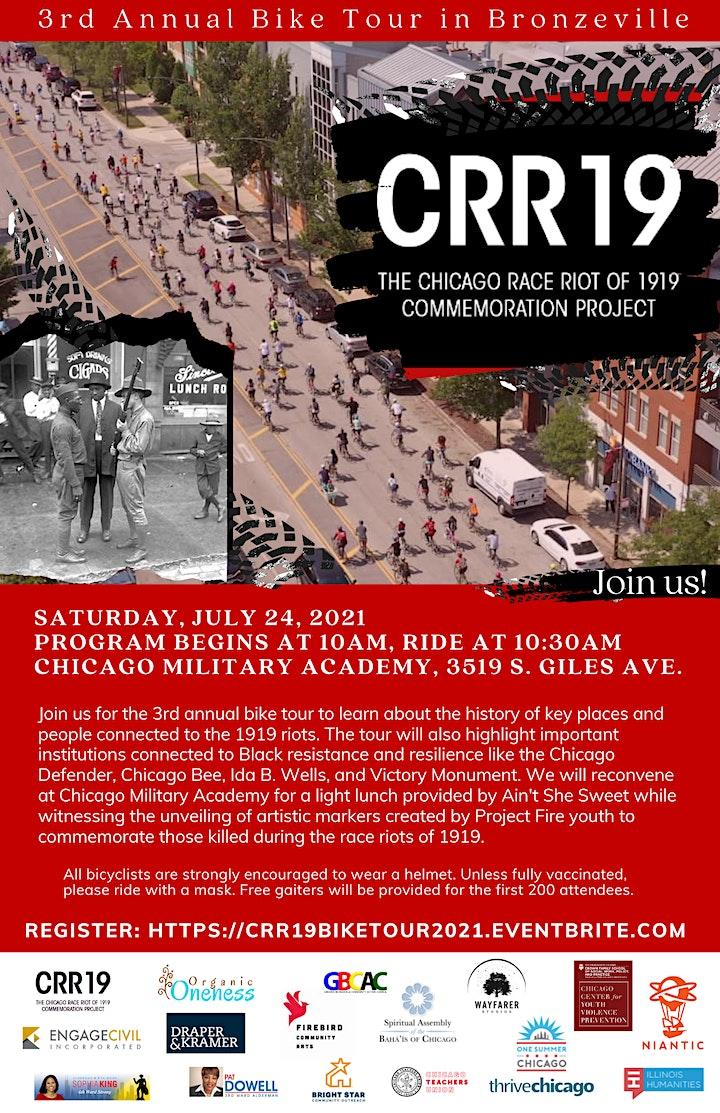 3rd Annual CRR19 Bike Tour image