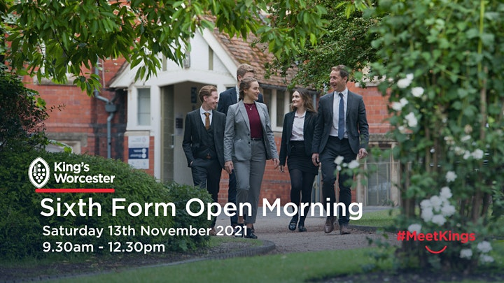 King's Worcester Sixth Form Open Morning image