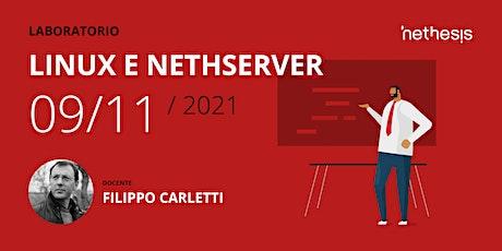 Laboratorio Linux e NethServer biglietti