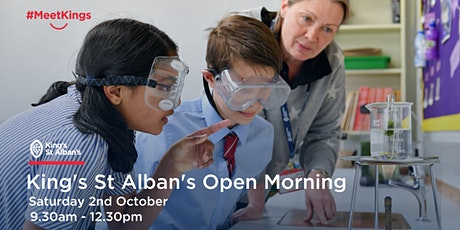 King's St Alban's Open Morning tickets