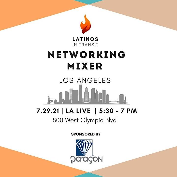 Latinos In Transit Networking Mixer image