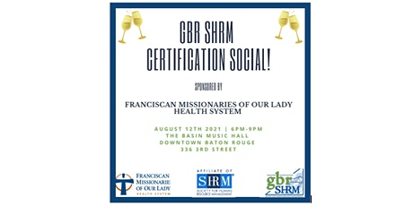 HR Off the Clock Certification Social tickets