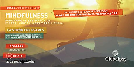 MINDFULNESS - PROGRAMA DE REDUCCIÓN DE ESTRÉS, MINDFULNESS Y RESILIENCIA. entradas