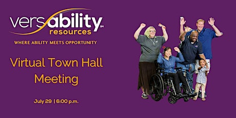 VersAbility Town Hall Meeting tickets