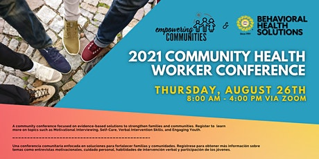 Empowering Communities Conference for CHWs tickets