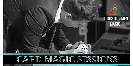 Close-Up Card Magic Sessions tickets