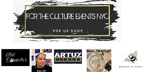 For The Culture Events NYC Pop-Up Shop tickets