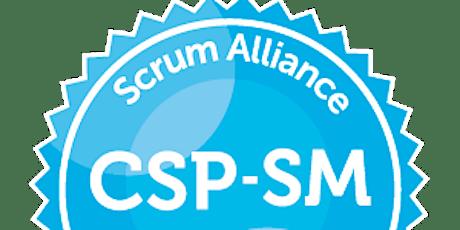 Certified Certified Professional® ScrumMaster tickets