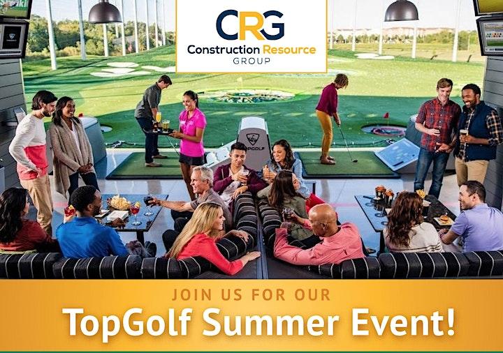 CRG Builder Appreciation Top Golf Event image