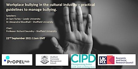 Workplace bullying in the cultural industry tickets