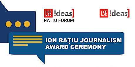 Ratiu Dialogues on Democracy:  Journalism Award Ceremony tickets